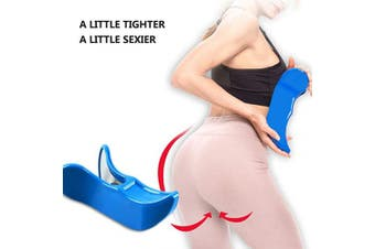 (BLUE) - Hip Training Device for Buttocks Traine Buttocks Bladder Controller Pelvic Floor Exercises Super Inner Thigh Exerciser Bodybuilding Fitness Bottom Muscle Toners