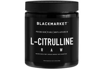 BlackMarket - Raw L-Citrulline, 300 Grammes