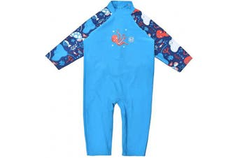 (1-2 Years, Under The Sea) - Splash About Unisex Baby Uv All-in-one Sunsuit