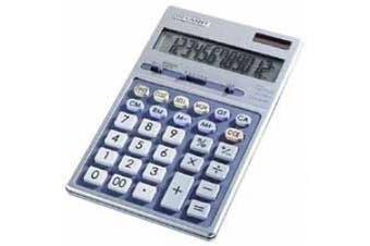 EL339HB Executive Portable Desktop/Handheld Calculator, 12-Digit LCD