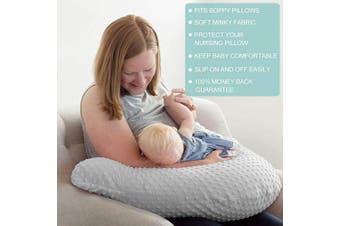 (arrow) - Owlowla Minky Nursing Pillow Cover, Breastfeeding Pillow Slipcover Fits Nursing Pillow for Baby Boy Girl(Arrow)