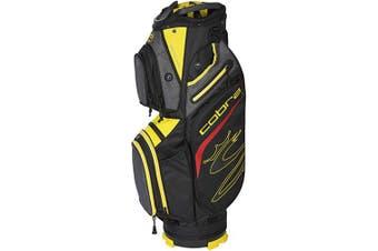 (Black-Yellow) - Cobra Golf 2020 Ultralight Cart Bag