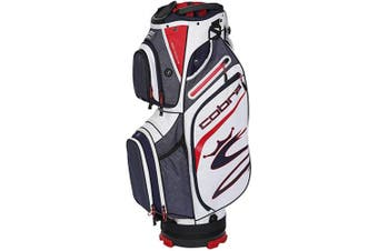 (Peacoat-Red-White) - Cobra Golf 2020 Ultralight Cart Bag