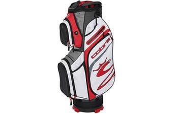 (Black-Red-White) - Cobra Golf 2020 Ultralight Cart Bag