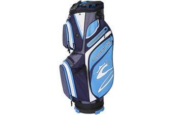 (Peacoat-Ibiza Blue) - Cobra Golf 2020 Ultralight Cart Bag
