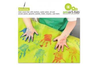 (45 Sheets per Pack, Assorted 15 colors) - Smart-Fab Disposable Fabric, 9 x 12 Sheets, Assorted, 45 per Pack (SFB23809124599)