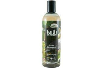(Jojoba) - Faith in Nature Natural Jojoba Shampoo, Smoothing Vegan & Cruelty Free, Parabens and SLS Free, For Normal to Dry Hair, 400 ml