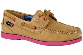(5.5 UK, Tan Pink) - Chatham Pippa II G2, Women's Boat Shoes