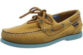 (4 UK, Tan Turquoise) - Chatham Pippa II G2, Women's Boat Shoes