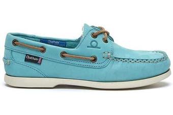 (7 UK, Turquoise) - Chatham Women's Pippa Ii G2 Boat Shoe