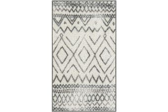 (0.3m2.4m x 0.6m10, Neutral) - Maples Rugs Abstract Diamond Modern Distressed Kitchen Rugs Non Skid Accent Area Floor Mat [Made in USA], 0.3m2.4m x 0.6m Neutral
