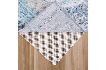 (0.9m x 1.5m) - MAYSHINE Non-Slip Area Rug Pad Mat 0.9m x 1.5m for All Floors and Finishes, Keeps Your Carpet Safe and in Place