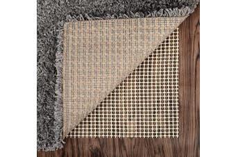 (1.5mx 2.4m, Pvc) - Abahub Anti Slip Rug Pad 1.5m x 2.4m for Under Area Rugs Carpets Runners Doormats on Wood Hardwood Floors, Non Slip, Washable Padding Grips
