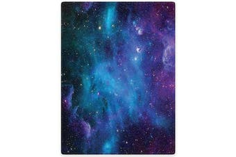 (Colourful) - SXCHEN Blankets Sofa Bed Throw Lightweight Cosy Plush House Nebula Galaxy Colourful 150cm x 200cm