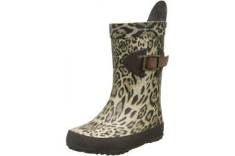 (8.5 UK Child, Multicolour 62 Leopard) - Bisgaard Unisex Kids' Scandinavia Wellington Boots