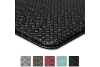 46cm X 200cm Black Kitchen Rug Anti Fatigue Non Skid Cushioned Comfort Standing Kitchen Mat Waterproof And Oil Proof Floor Runner Mat Easy To Clean 46cm X 200cm Black Kogan Com