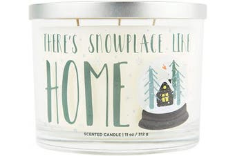 (There's Snowplace Like Home) - Aromascape There's Snowplace Like Home Candle, White