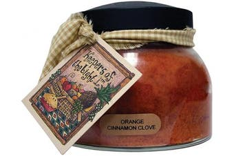 (650ml, Orange Cinnamon Clove) - A Cheerful Giver A Orange Cinnamon Clove 650ml Mama Jar Candle, 650ml