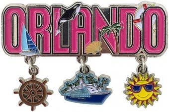 (Orlando Magnet) - American Cities and States of Magnets (Orlando Magnet)