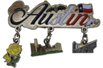 (Austin) - American Cities and States of Magnets (Austin)
