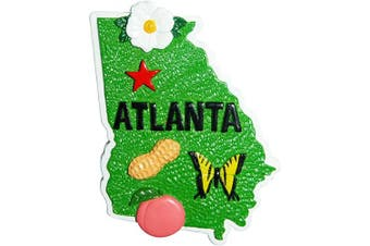 (Atlanta Magnet) - American Cities and States of Magnets (Atlanta Magnet)