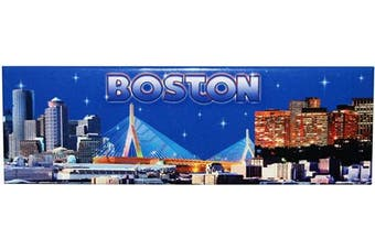 (Boston Skyline) - American Cities and States of Magnets (Boston Skyline)