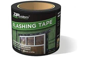 Huber ZIP System Flashing Tape | 9.5cm x 9.1m | Self-Adhesive Flashing for Doors-Windows Rough Openings