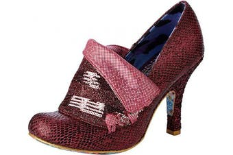 (7.5 UK, Pink Pink Df) - Irregular Choice Women's Flick Flack Closed Toe Heels