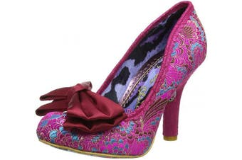 (6 UK, Pink Pink Ax) - Irregular Choice Women's Mal E Bow Closed Toe Heels