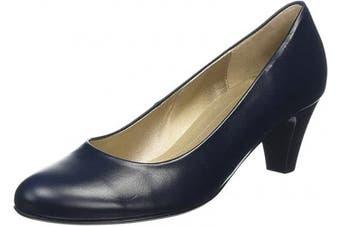 (9 UK, Blue Blue Leather) - Gabor Women's Basic Closed Pumps