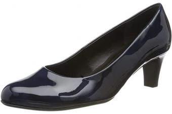 (3 UK, Blue Marine 76) - Gabor Women's Basic Closed-Toe Pumps