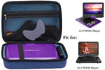 Aproca Hard Protective Case for COOAU 11.5/32cm Portable DVD Player