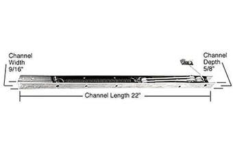 (2130 or 21-3) - C.R. LAURENCE FA2130 CRL 60cm Window Channel Balance - 2130 or 21-3