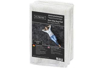 (0.6m x 2.4m / 61x244cm) - B.PRIME 0.6m x 2.4m / 61x244cm Universal Non-Slip Rug Underlay for Hard Floors.