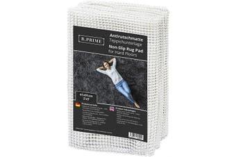 (0.6m x 0.9m / 61x91cm) - B.PRIME 0.6m x 0.9m / 61x91cm Universal Non-Slip Rug Underlay for Hard Floors.