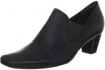 (9 UK, Black Schwarz Schwarz 100) - HÖGL 4-104560-01000 Womens Open-Toe Heels