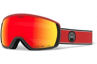 (standard size, red element vivid ember) - Giro Men's Balance Ski Goggles
