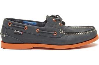 (12 UK, Navy Orange) - Chatham Men's Compass Ii G2 Boat Shoe