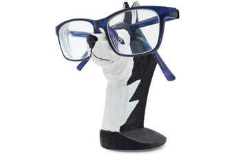 (Husky Dog) - VIPbuy Handmade Wood Carving Eyeglasses Spectacle Holder Stand Sunglasses Display Rack Home Office Desk Décor Gift (Husky Dog)