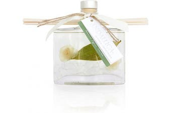 (Green, White) - Andaluca Gardens of Bali Botanical Reed Diffuser   160ml   Scents of Jasmine and Lily