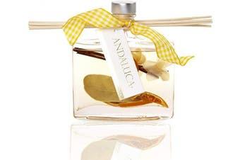 (Lemon Zest & Thyme) - Andaluca Lemon Zest & Thyme Botanical Reed Diffuser   160ml   Citrus & Spice Scent