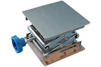 Stainless Steel Lab Jack Stand Table Lift Laboratory Jiffy Jack 10cm x 10cm