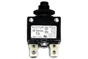(7A) - KUOYUH Circuit Breaker 88 series 125/250VAC 50/60Hz (1pc) (7A)