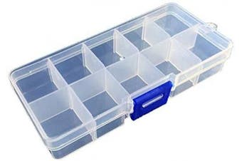 (case) - Detachable Components Storage Cases Boxes for Electronic Components, Jewellery, Cosmetics, Stationery and Small Tools