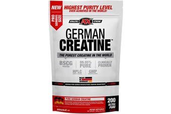 (200 Servings) - German Creatine | 200 Servings (1000g) Creapure | Pure German Creatine Monohydrate from Creapure | Safest and Purest Creatine