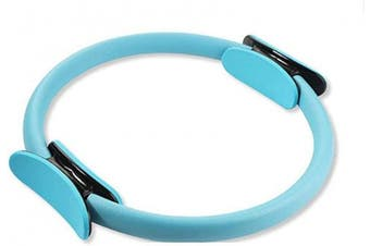 (Blue) - Xiaoai Pilates Ring Magic Circle and Resistance Exercise Fitness Ring for Toning & Sculpting Inner & Outer Thighs