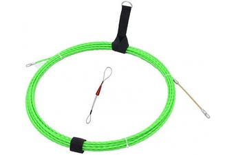 Fish Tape Electrical Wire Threader Wire Puller and Fish Tape Fastener tool 33 FT(10M) UP Grade Large Leader Hole