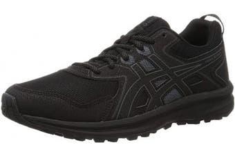 (10 UK, Black Graphite Grey) - ASICS Women's Trail Scout Running Shoe