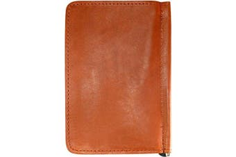 (English Tan) - TPK Golf Accessories-Golf Gifts   Leather Golf Scorecard Holder and Yardage Book Cover - Golf Score Book   Made in USA with Full Grain Leather