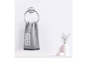 (Towel Ring) - JOMOLA Vacuum Suction Cup Towel Ring Washcloth Holder for Bathroom Shower Drill Free Kitchen Sink Hand Towel Round Holder Storage Hanger Stainless Steel Brushed Finish